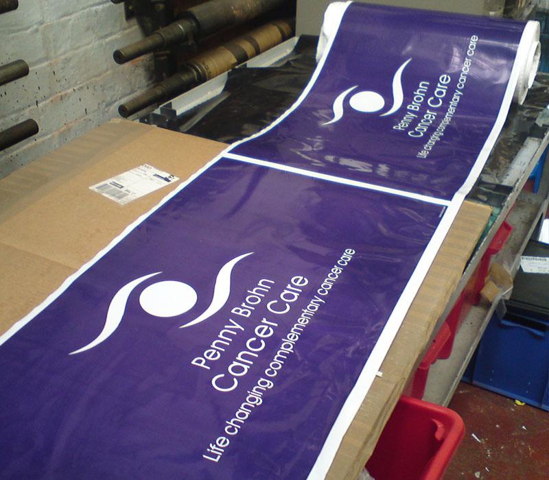Xtex Polythene Plastic Banners